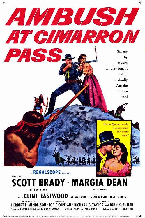 EMBOSCADA EM CIMARRON PASS (Ambush At Cimarron Pass, 1958)