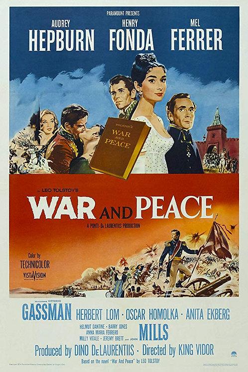 GUERRA E PAZ (War and Peace, 1956)