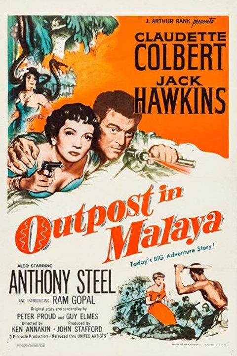 NA SELVA DA MALAYA (The Planter's Wife/Outpost in Malaya, 1952)