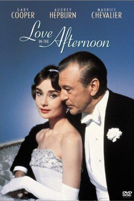 AMOR NA TARDE (Love in the Afternoon, 1957)