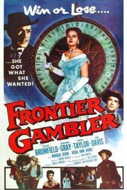 FRONTEIRA DE ÓDIO (Frontier Gambler, 1956) - Legendado