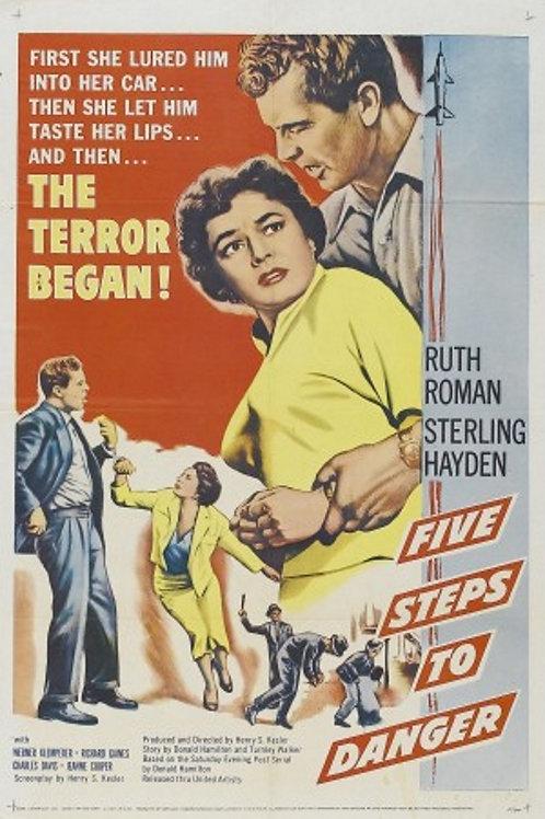 A CINCO PASSOS DA MORTE (Five Steps to Danger, 1957)