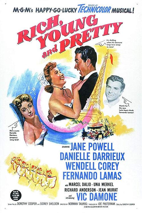 RICA, BONITA E SOLTEIRA (Rich, Young and Pretty, 1951)