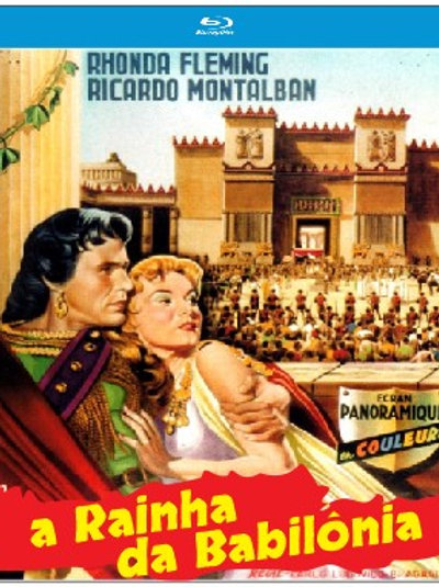 A RAINHA DA BABILÔNIA (Queen of Babylon, 1954)
