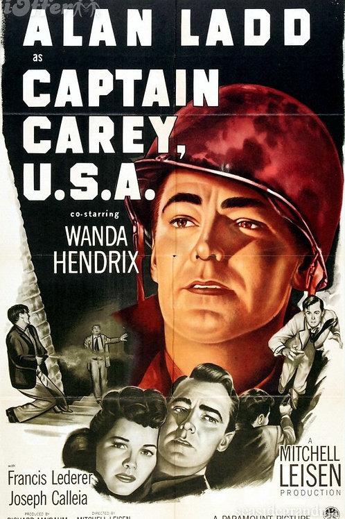 MISSÃO DE VINGANÇA (Captain Carey, U.S.A., 1950) - DVD legendado em português