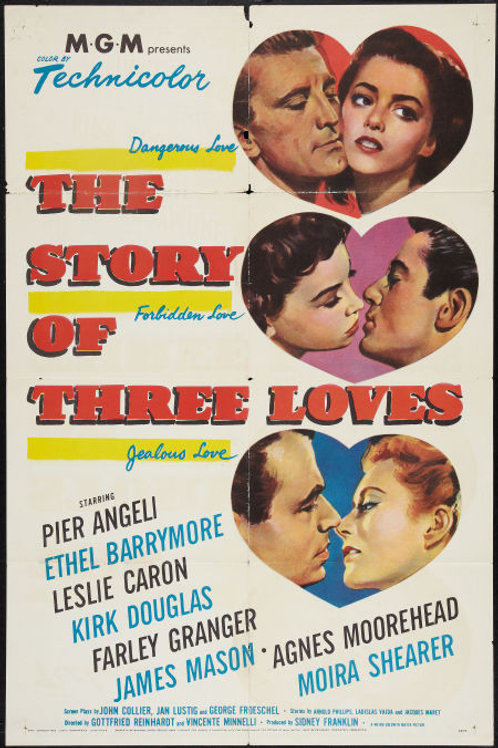 A HISTÓRIA DE TRÊS AMORES (The Story of Three Loves, 1953)
