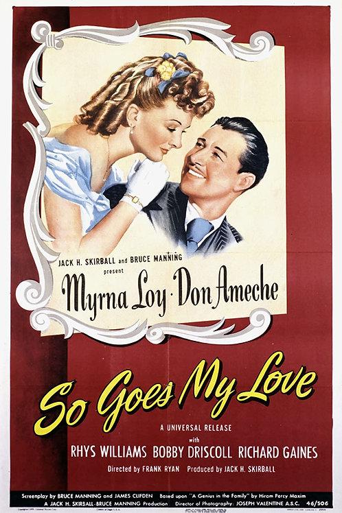 AMOR TEMPESTUOSO (So Goes My Love, 1946)