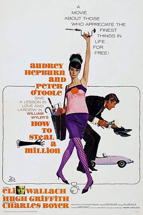 COMO ROUBAR UM MILHÃO DE DÓLARES (How To Steal A Million, 1966)