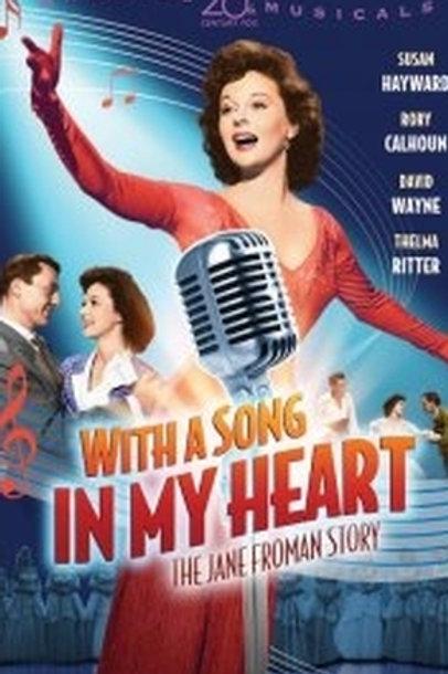 O MEU CORAÇÃO CANTA (With A Song In My Heart) - Legendado