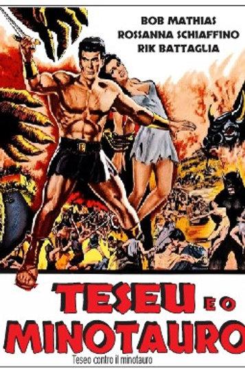 TESEU E O MINOTAURO (Teseo Contro Il Mintauro, 1960) DVD legendado em português