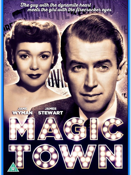 CIDADE ENCANTADA (Magic Town, 1947)