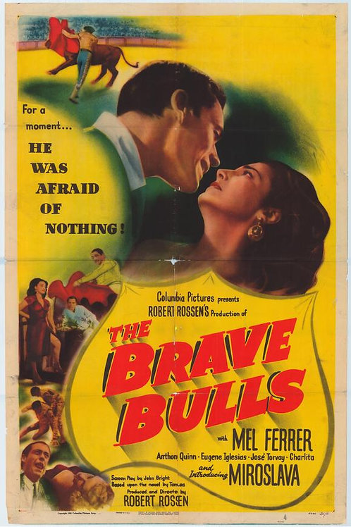 TOUROS BRAVOS (Brave Bulls, 1951)