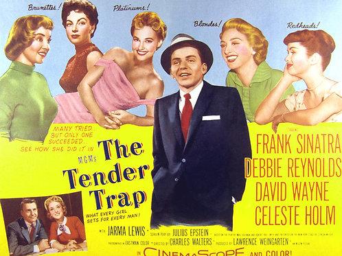 ARMADILHA AMOROSA (The Tender Trap, 1955) DVD legendado em português