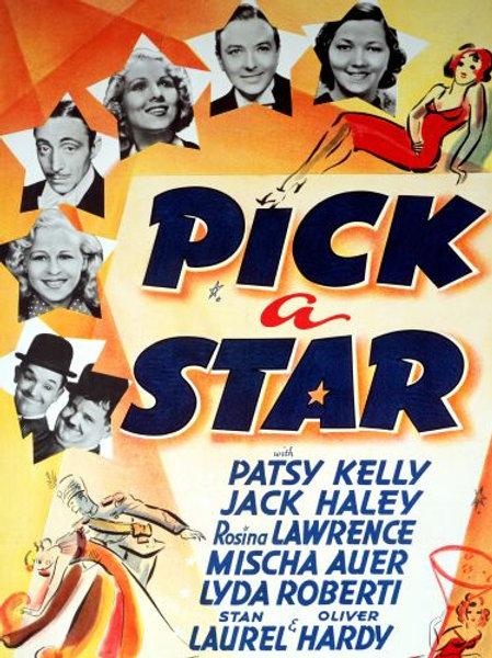 MANIA DE HOLLYWOOD (Pick a Star, 1937)