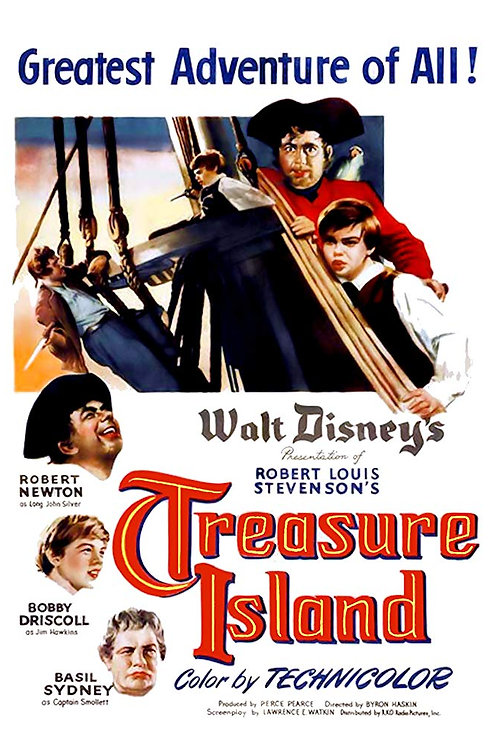 A ILHA DO TESOURO (Treasure Island, 1950)