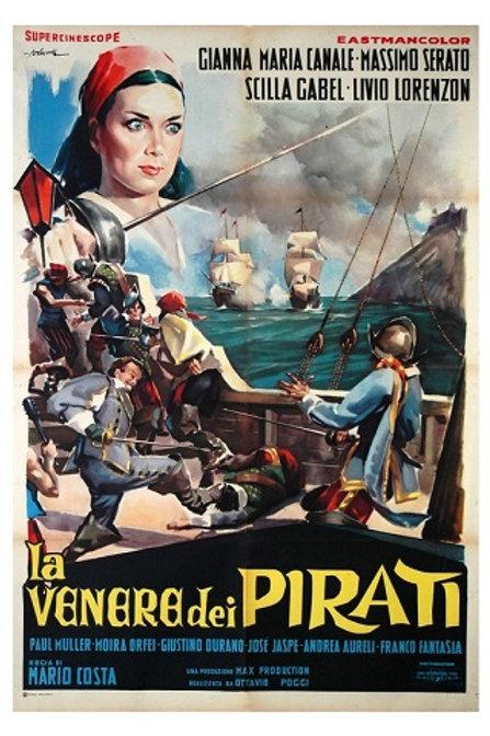 A RAINHA DOS PIRATAS (La Venere dei Pirati, 1960)