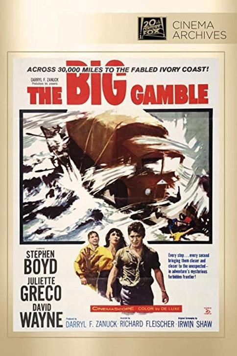 A GRANDE CARTADA (The Big Gamble, 1962)