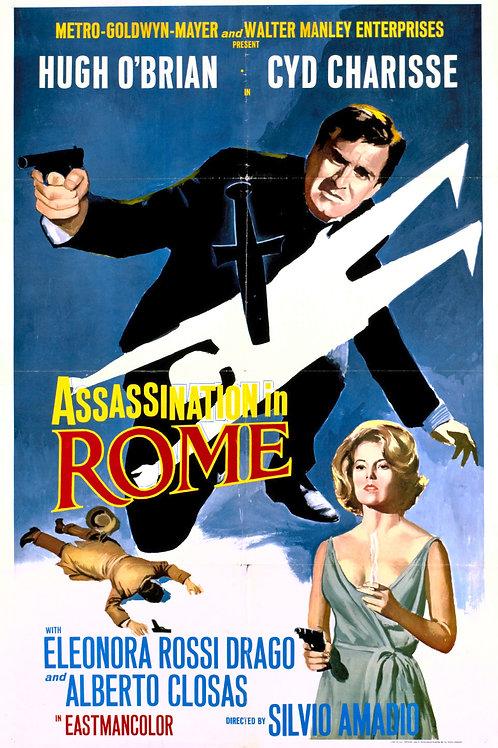 ASSASSINATO EM ROMA (Assassination in Rome, 1965)