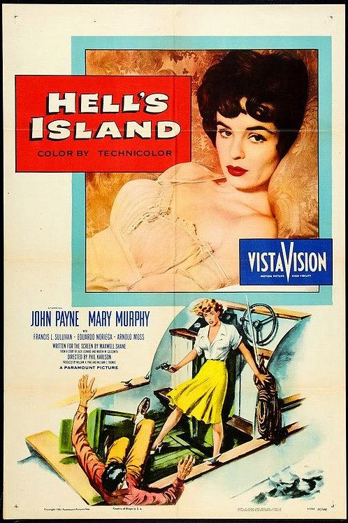 A ILHA DO INFERNO (Hell's Island, 1955) - DVD legendado em português