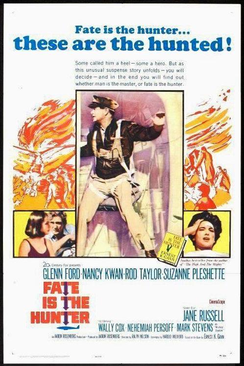 O DESTINO É O CAÇADOR (Fate Is the Hunter, 1964) - DVD legendado em português