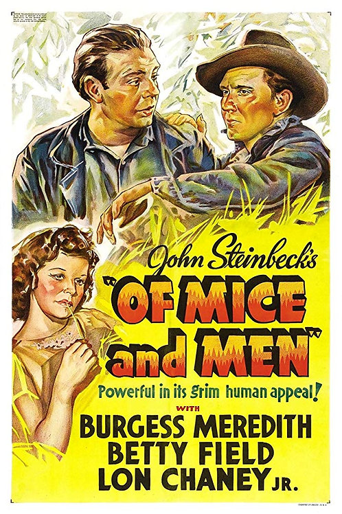 CARÍCIA FATAL (Of Mice and Men, 1939)