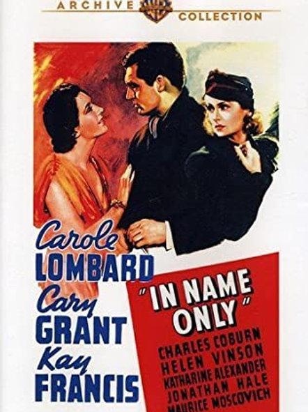 ESPOSA SÓ NO NOME (In Name Only, 1939)