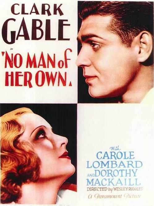 CASAR POR AZAR (No Man of Her Own, 1932)