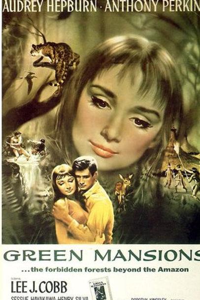 A FLOR QUE NÃO MORREU (Green Mansions, 1959) DVD legendado em português