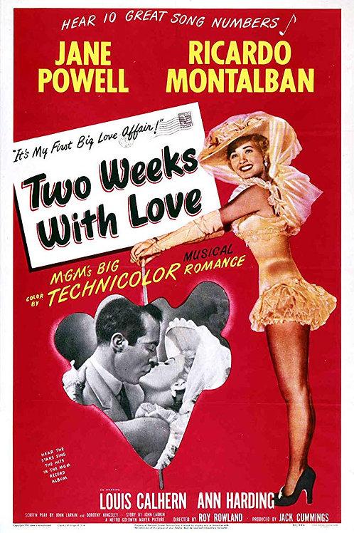 QUANDO CANTA O CORAÇÃO (Two Weeks of Love, 1950)