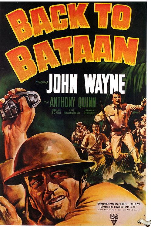 ESPÍRITO INDOMÁVEL (Back To Bataan, 1945) - Legendado