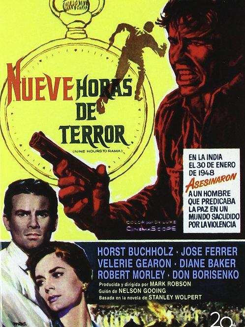 NOVE HORAS ATÉ A ETERNIDADE (Nine Hours To Rama, 1963)