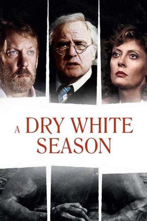 ASSASSINATO SOB CUSTÓDIA (A Dry White Season, 1989)