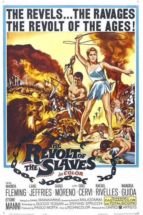 A REVOLTA DOS ESCRAVOS (The Revolt of The Slaves, 1960) - Legendado
