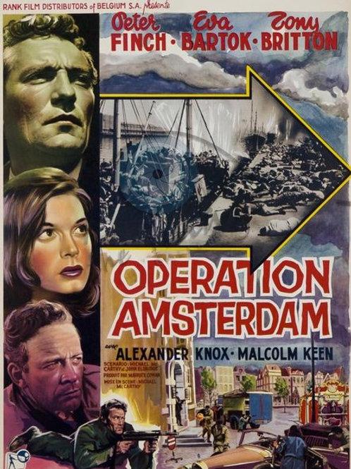 MISSÃO SECRETA EM AMSTERDAM, (Operation Amsterdam, 1959) DVD legendado