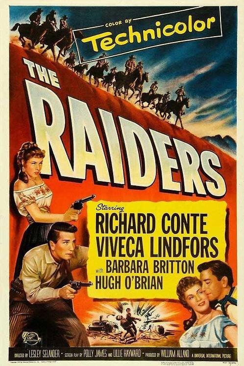 OURO E VINGANÇA (The Raiders, 1952) - Legendado