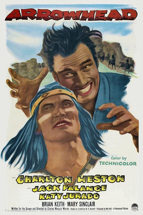 O ÚLTIMO GUERREIRO (Arrowhead, 1953) Blu-ray legendado em português