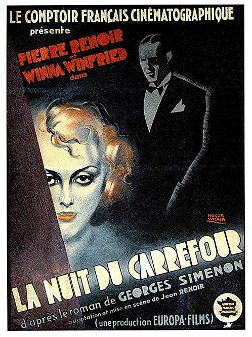 A NOITE DA ENCRUZILHADA (La Nuit Du Carrefour, 1932)