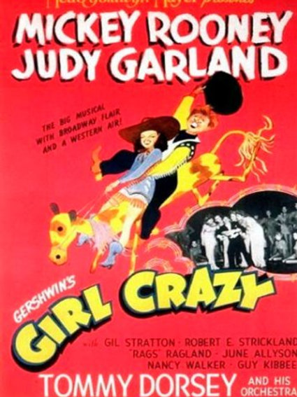 LOUCO POR SAIAS (Girl Crazy, 1943)