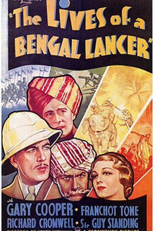 LANCEIROS DA ÍNDIA (The Lives of a Bengal Lancer, 1952) DVD legendado em portugu