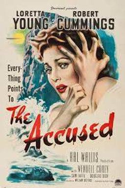 ACUSADA! (The Accused, 1949)