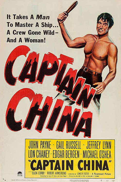 CAPITÃO CHINA (Captain China, 1950)