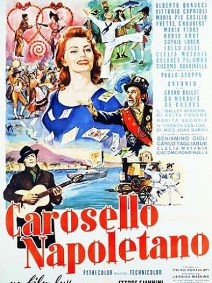CARROSSEL NAPOLITANO (Carosello Napoletano, 1954) - DVD legendado em português