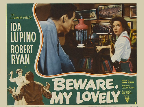 ESCRAVO DE SI MESMO (Beware, My Lovely, 1957) - DVD legendado em português