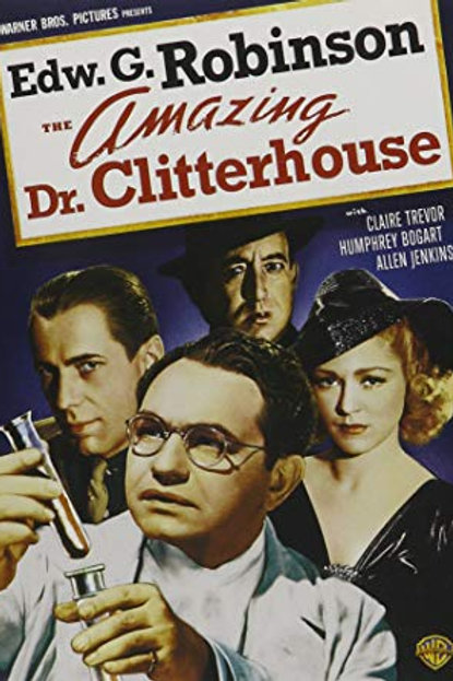 O GÊNIO DO CRIME (The Amazing Dr. Clittershouse, 1938)