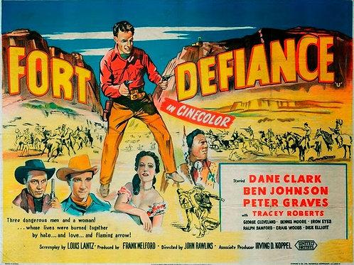 FORTE DA VINGANÇA (Fort Defiance, 1951) Blu-ray legendado em português