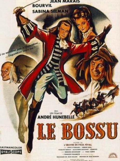 O CORCUNDA (Le Bossu, 1959)