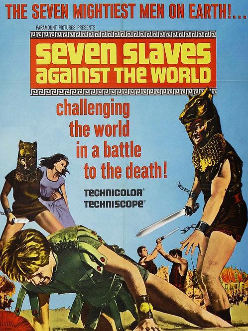 SETE CONTRA ROMA (Gli schiavi più forti del mondo, 1964)