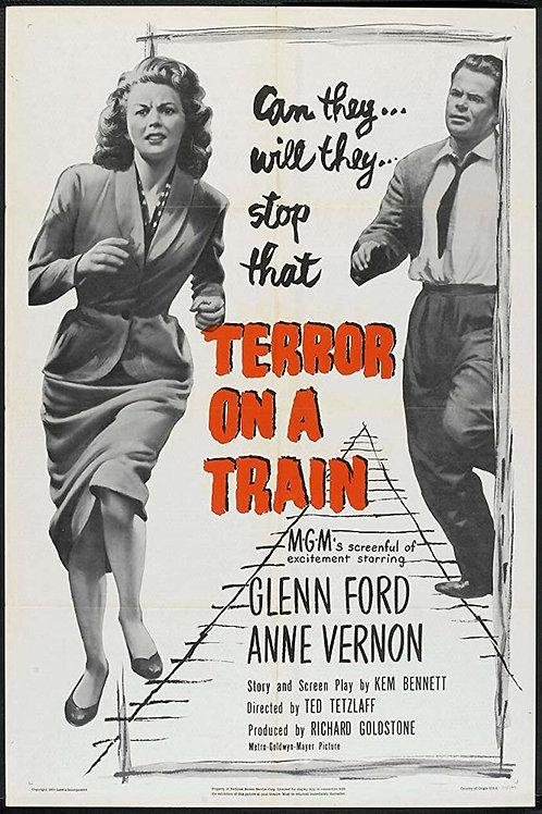 A BOMBA RELÓGIO (Terror on a Train, 1953)