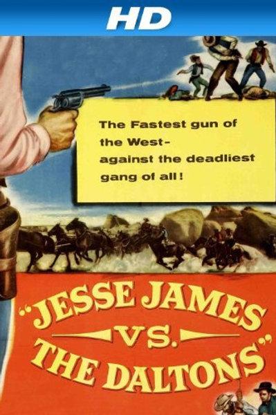 JESSE JAMES CONTRA OS DALTONS (Jesse James Vs. The Daltons, 1954)