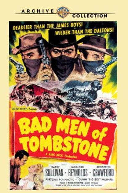 ÚLTIMO MALFEITOR (BAD MEN OF TOMBSTONE, 1949) DVD legendado em português